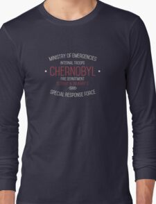 Chernobyl Containment Team Long Sleeve T-Shirt