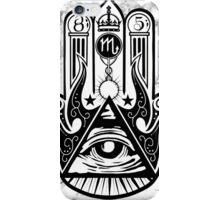 Illuminati's hand iPhone Case/Skin