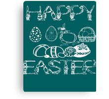 HAPPY EASTER - EASTER'S DAY Canvas Print