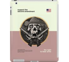 The Right To Bear Arms iPad Case/Skin