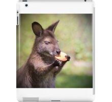 Wallaby eating iPad Case/Skin