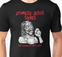 Zombie Jesus Saves Unisex T-Shirt