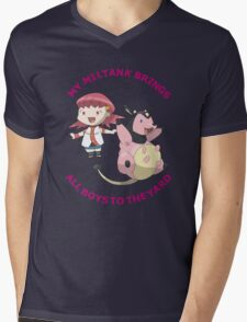 Miltank Mens V-Neck T-Shirt