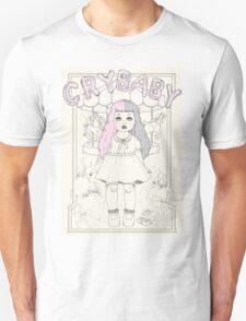♡ CRYBABY vintage illustration ♡:  T-Shirt
