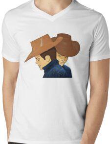Broke Back Mountain Cowboys! Mens V-Neck T-Shirt