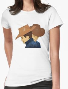 Broke Back Mountain  Womens Fitted T-Shirt