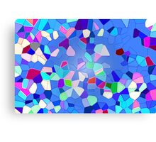 Colours Connect - Abstract Canvas Print