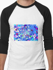Colours Connect - Abstract Men's Baseball ¾ T-Shirt