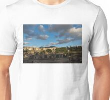 Herculaneum - Dramatic Sky and Shadows Evoke the Ancient Volcano Eruption Disaster Unisex T-Shirt