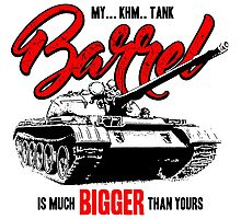 World of Tanks inspired work Photographic Print