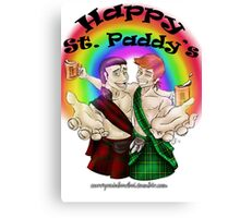 Happy St. Paddy's Canvas Print