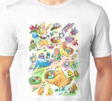 Easter egg party Unisex T-Shirt