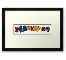 Star Trek TOS Shirts  Framed Print