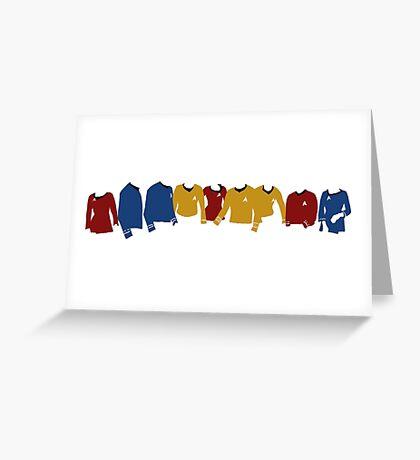 Star Trek TOS Shirts  Greeting Card