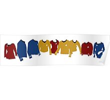 Star Trek TOS Shirts  Poster
