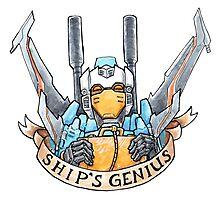 Ship's Genius Photographic Print
