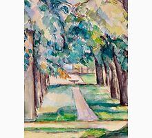 1893 - Paul Cezanne - Avenue of Chestnut Trees at the Jas de Bouffan Unisex T-Shirt