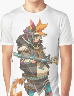 Fury Beats - Lily Slash Graphic T-Shirt