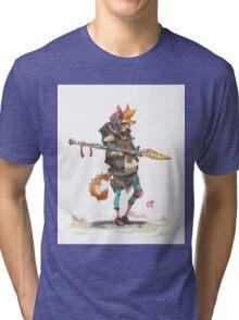 Fury Beats - Lily Slash Tri-blend T-Shirt
