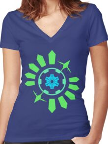 Time Gear Women's Fitted V-Neck T-Shirt