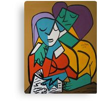 PICASSO PAINTING BY NORA  PASSION Canvas Print