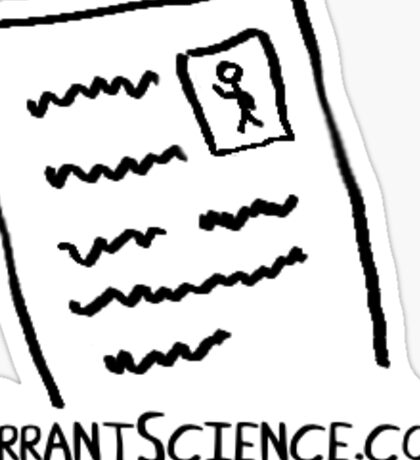 ErrantScience sticker logo Sticker