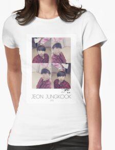 BTS/Bangtan Sonyeondan - Jungkook Photocard Womens Fitted T-Shirt