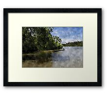The Kid of the Jungle Framed Print