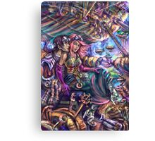 Steampunk Zeppelin Canvas Print