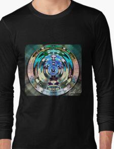 Tribal Mandala Soft Colors Long Sleeve T-Shirt