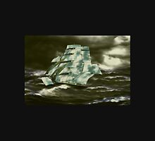 A Clipper Ship in Full Sail Unisex T-Shirt