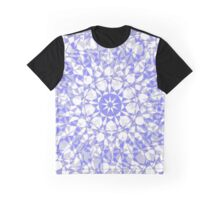 Kaleidoscope Blue Graphic T-Shirt