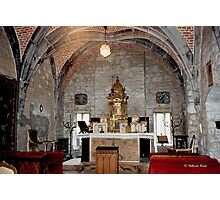 Chapel of Chateau de Chimay Photographic Print