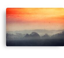 I burn for you Canvas Print
