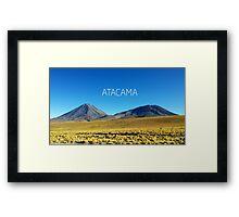 Atacama Desert - Chile Framed Print