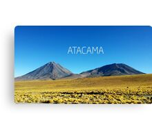 Atacama Desert - Chile Canvas Print