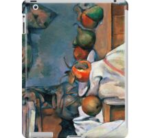 1893 - Paul Cezanne - Ginger Pot with Pomegranate and Pears iPad Case/Skin