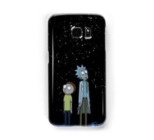 Rick and Morty x Calvin and Hobbes Samsung Galaxy Case/Skin