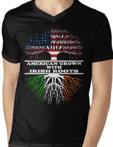 American Irish Mens V-Neck T-Shirt