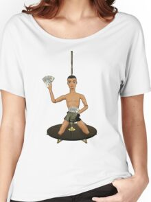 Pole Dancing Chippendale! Women's Relaxed Fit T-Shirt