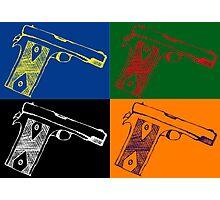 Pop art guns Photographic Print