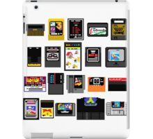 Vintage Game Carts iPad Case/Skin