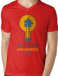 Autism awareness day Mens V-Neck T-Shirt