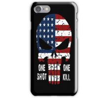 One Shot One Kill iPhone Case/Skin
