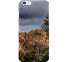 Storm Over the Dells iPhone Case/Skin
