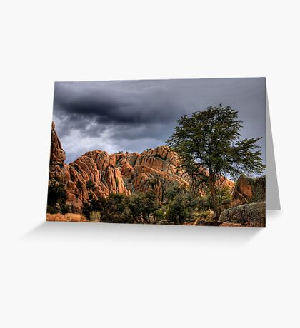 Storm Over the Dells Greeting Card
