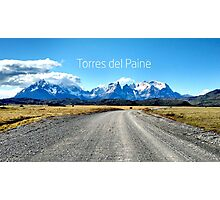 Torres del Paine - Chile Photographic Print