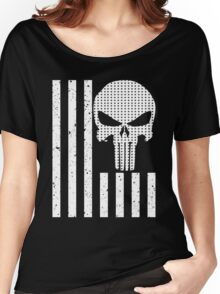 american sniper flag Women's Relaxed Fit T-Shirt
