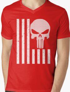 american sniper flag Mens V-Neck T-Shirt