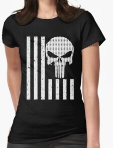 american sniper flag Womens Fitted T-Shirt